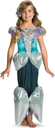 Disney Princess - Ariel Lame Deluxe Toddler / Child Costume: Medium (7/8)