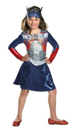 Transformers 3 Dark of the Moon Movie - Optimus Girl Toddler / Child Costume: Toddler (3T-4T)