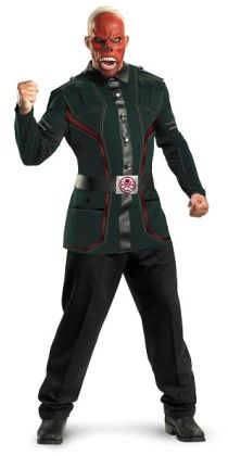 Captain America Movie - Red Skull Deluxe Adult Costume: Plus Size (50-52)