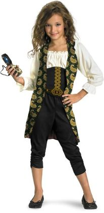 Pirates of the Caribbean 4 On Stranger Tides - Angelica Child Costume: Large (10/12)