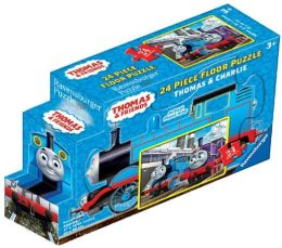 Thomas & Friends 24 Piece Floor Puzzle in a Shaped Box, Thomas & Charlie