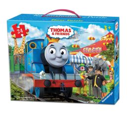 Thomas & Friends - Circus Fun 24 Piece Floor Puzzle in a Suitcase Box