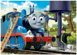 Thomas & Friends 35 Piece Puzzle in a Suticase Box, Thomas & Hiro
