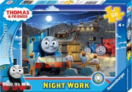 Thomas & Friends - Night Work 60 Piece Glow-in-the-Dark Puzzle