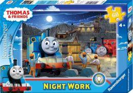Thomas & Friends - Night Work 60 Piece Glow-in-the-Dark Puzzle