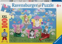 Kitty Wings 100 Piece Puzzle