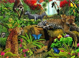 Wild Jungle - 100 piece puzzle