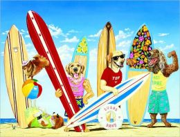 Surf Dawgs - 100 piece puzzle