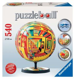 Illusions 540 Piece Puzzleball (includes base stand)