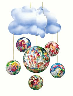 Fairies-Mobile - puzzleball set