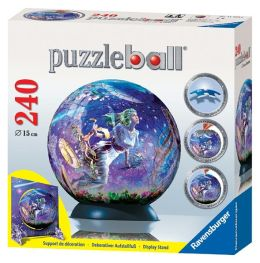 Magical Night 240 Piece Puzzleball (with special stand)