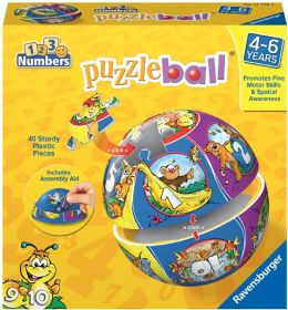 Numbers 40 Piece Puzzleball
