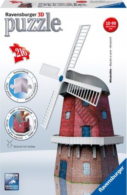 3D Windmill 216 piece puzzle