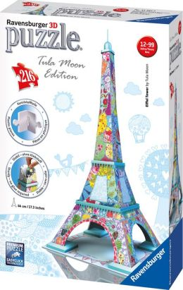 Tula Moon - Eiffel Tower 216 Piece 3D Building