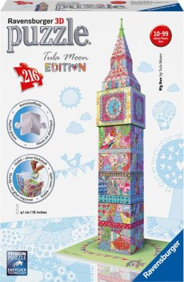 Tula Moon - Big Ben 216 Piece 3D Building