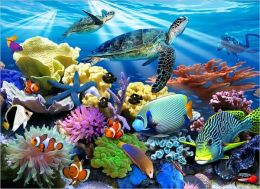 Ocean Turtles - 200 piece puzzle