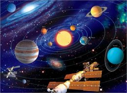 The Solar System - 200 piece puzzle