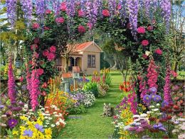 Cottage Garden - 300 piece Large Format puzzle