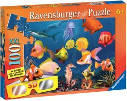 Fascinating Underwater World 100 Piece 3D puzzle