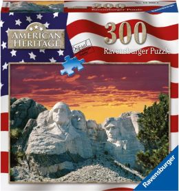 Mount Rushmore 300 Piece puzzle