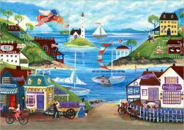 Lovely Seaside - 500 piece puzzle