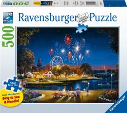 Star Spangled 500 pc large format puzzle