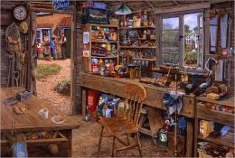 Dad's Shed 500 Piece Large Piece Format Puzzle
