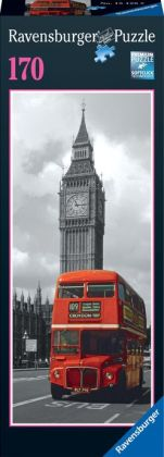 London Bus 170 Piece vertical mini puzzle