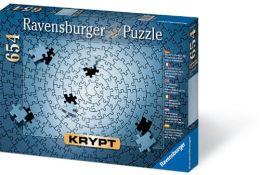 Krypt- Silver 654 Piece Blank Puzzle Challenge
