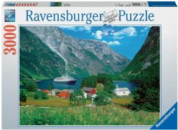 Fascinating Norway 3000 Piece Puzzle