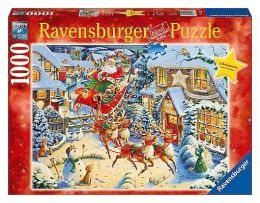 Santa's Flying Visit 1000 piece puzzle