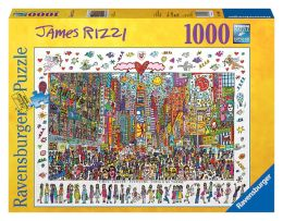 James Rizzi: Times Square 1000 pc puzzle