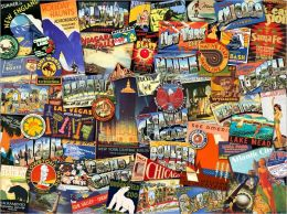 Road Trip USA - 1000 piece puzzle