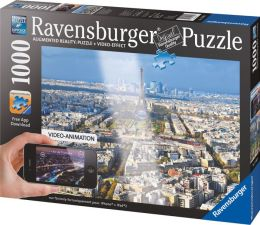 Over the Rooftops of Paris 1000 Piece Augmented Reality Puzzle