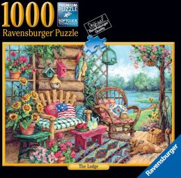The Lodge 1000 piece puzzle