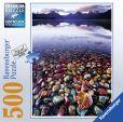 Product Image. Title: Lake McDonald 500 Piece Puzzle