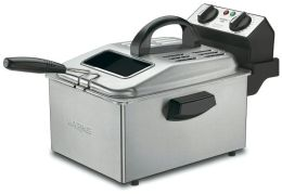 Waring Pro DF250B Professional Deep Fryer - Stainless