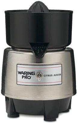Waring Pro PCJ218 Professional Citrus Juicer - Stainless/Black