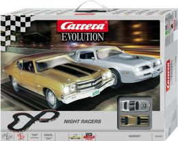 Carrera Evolution Night Racers Racing Slot Car Set