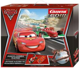 GO!!! Carrera Digital 1:43 Slot Cars - Disney Pixar Cars 2