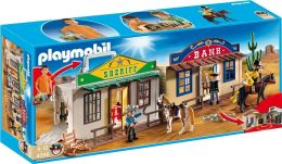 Playmobil My Take Along Western City