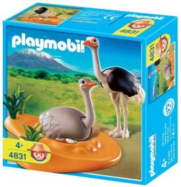 Playmobil Ostrich Family
