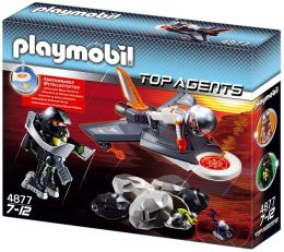 Playmobil Secret Agent Detection Jet