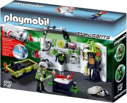 Playmobil Robo-Gang Lab with Multifunctional Flashlight