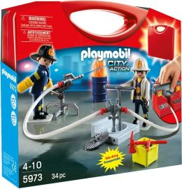 Playmobil Firemen Carrying Case