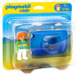 Playmobil 1-2-3 Blue Convertible