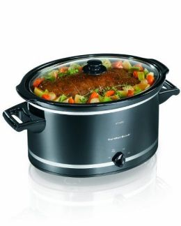 Hamilton Beach 8-Quart Slow Cooker With Lid Rest