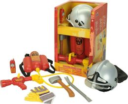 Pretend Play 6 Piece Firefighter Set