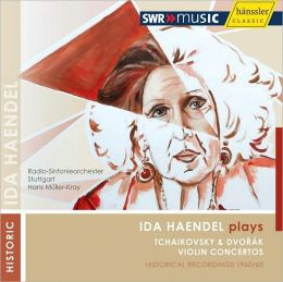Ida Haendel Plays Tchaikovsky & Dvorák Violin Concertos