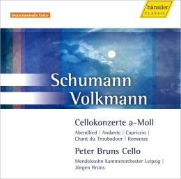 Schumann, Volkmann: Cello Concertos
